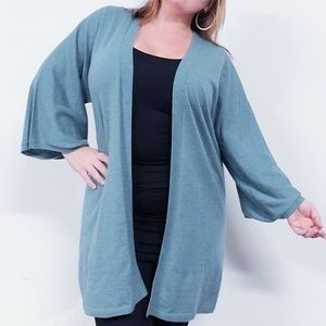Eileen Fisher Cashmere Open Front Cardigan